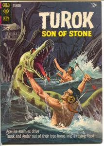 Turok Son Of Stone 47 1965-Gold Key issue-monster cover-VG/FN