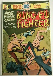 KUNG FU FIGHTER#3 FN/VF 1975 JACK KIRBY DC BRONZE AGE COMICS