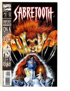 5 Marvel Comic Books Sabretooth 2 X-Factor 108 Weapon X 2 X-Men 416 Ultra 3 J308