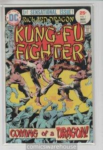 RICHARD DRAGON KUNG FU FIGHTER (1975 DC) #1 NM A09521