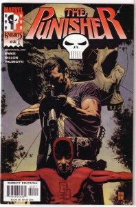 Punisher (vol. 5, 2000) # 3 of 12 FN Ennis/Dillon, Bradstreet cover, Daredevil