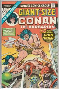 Giant-Size Conan #3 (Apr-75) FN/VF Mid-High-Grade Conan