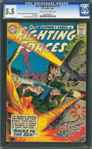 Our Fighting Forces #79 (DC, 1963) CGC 5.5