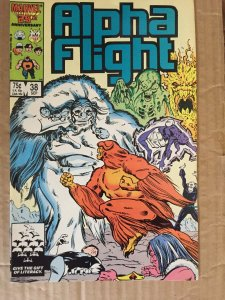Alpha Flight #38 (1986)