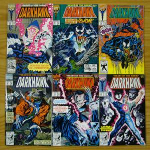 Darkhawk: Heart of the Hawk #1-6 VF/NM complete set venom island story 10 13 16