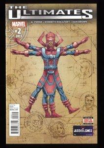 Ultimates #2 NM 9.4 1st Print 1st Galactus the Lifebringer!