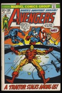 Avengers #106 VG/FN 5.0 Marvel Comics Thor Captain America