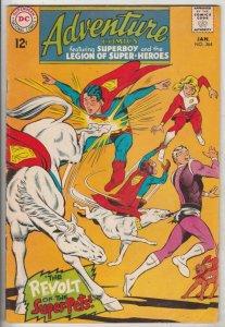 Adventure Comics #364 (Jan-68) FN/VF Mid-High-Grade Legion of Super-Heroes, S...