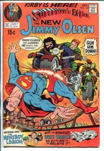 SUPERMAN'S PAL JIMMY OLSEN #133 1970-DC-1ST JACK KIRBY-NEWSBOY LEGION-vg