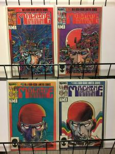 MACHINE MAN (1984) 1-4 BARRY WINDSOR-SMITH S&A pick