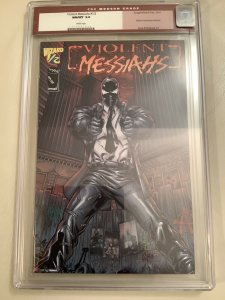 Violent Messiahs Wizard 1/2 Mail Away CGC Old Red Label 9.8