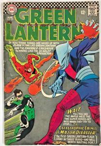 GREEN LANTERN#43 GD/VG 1966 DC SILVER AGE COMICS