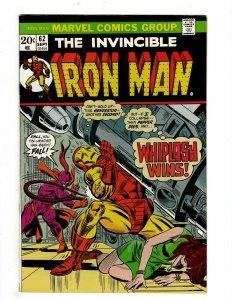 10 Iron Man Marvel Comics # 62 63 64 65 67 69 70 71 72 73 Tony Stark J451