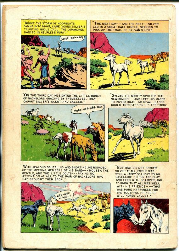 Lone Rangers Famous Horse Hi-Yo Silver-Four Color Comics #392 1952-Dell-VG