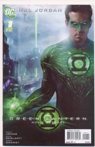HAL JORDAN #1 Green Lantern Movie Prequel One Shot DC Comics ~ VF+ (HX358)