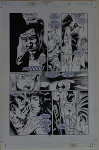 KELLEY JONES / RON RANDALL original art, the CRUSADES #14 pg 5, 11x17, 2002