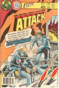 ATTACK (1971 CHARLTON) 21 VF  March 1980 COMICS BOOK