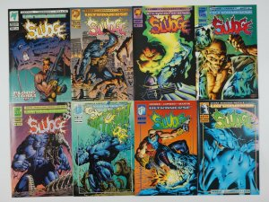 Sludge #1-12 VF/NM complete series + red x-mas special - steve gerber ultraverse