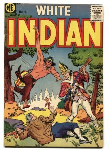 White Indian #15 1954-ME-last issue-Frank W Bolle