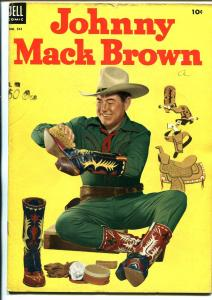 Johnny Mack Brown-Four Color Comics #541 1950-Dell-Jesse Marsh-FN-