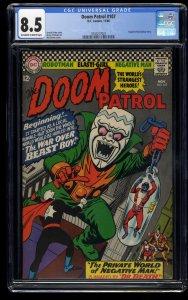 Doom Patrol #107 CGC VF+ 8.5 Off White to White