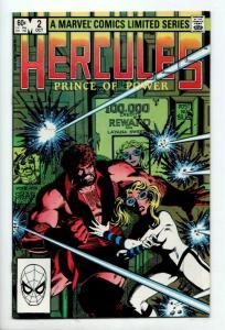 Hercules Prince of Power #2 (Marvel, 1982) VF-