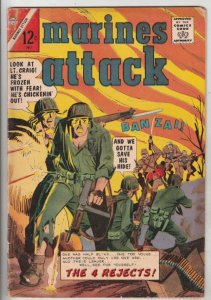 Marine Attack #5 (Jul-65) FN- Mid-Grade The 4 Rejects