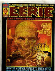 Lot Of 6 Eerie Warren Comic Book Magazines # 53 55 59 65 66 69 Horror Fear RS3