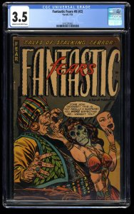 Fantastic Fears #2 CGC VG- 3.5 Cream To Off White (#8)