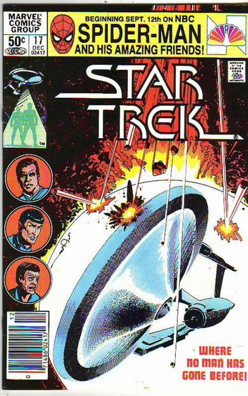 Star Trek #17 (Dec-85) NM- High-Grade Captain Kirk, Mr Spock, Bones, Scotty