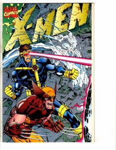 Lot Of 5 X-Men # 1 Issues (Jim Lee Series) Connecting Covers Marvel Comics RC2