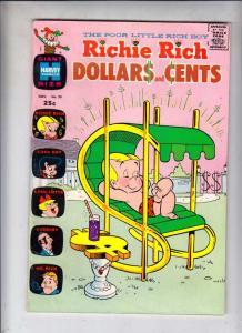 Richie Rich Dollars and Cents #39 (Nov-70) VF+ High-Grade Richie Rich