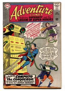 ADVENTURE COMICS #340 comic book 1966-SUPERBOY LEGION SUPER-HEROES