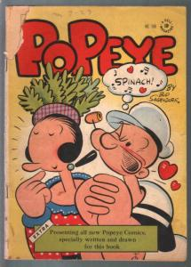 Popeye-Four Color Comics #148 1947-Dell-Bud Sagendorf-G