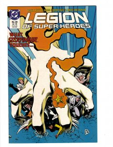 Legion of Super-Heroes #40 (1987) SR7