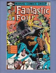 Fantastic Four #219 NM- Namor Marvel 1980