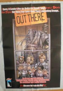 OUT THERE Promo poster, 22x33,  2001, Unused, more in our store