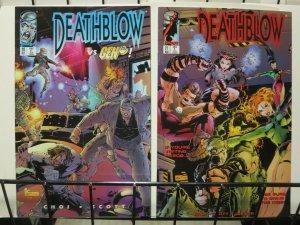 DEATHBLOW (1993 IMAGE) 20-21 Gen 13 cross-over