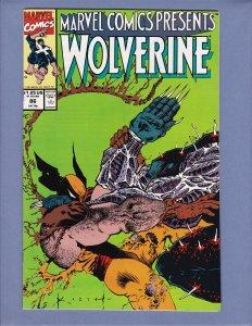 Marvel Comics Presents #86 NM- Sam Keith Wolverine Beast Marvel 1991