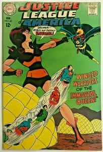 JUSTICE LEAGUE OF AMERICA#60 VG 1968 DC SILVER AGE COMICS