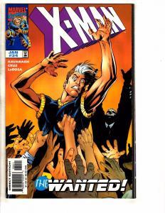 Lot Of 10 X-Man Marvel Comic Books # 34 35 36 37 38 39 40 41 42 43 Gambit J266
