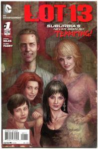 LOT 13 #1, NM, Steve Niles, Glenn Fabry, 2012, Haunted, more Horror in store