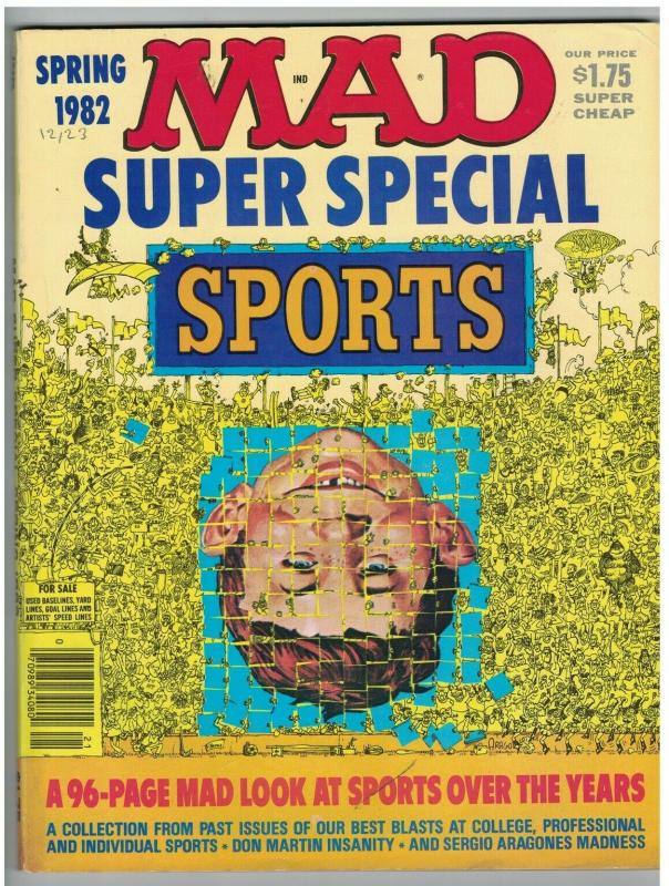 MAD SPECIAL (1982) 38 FINE looks at SPORTS
