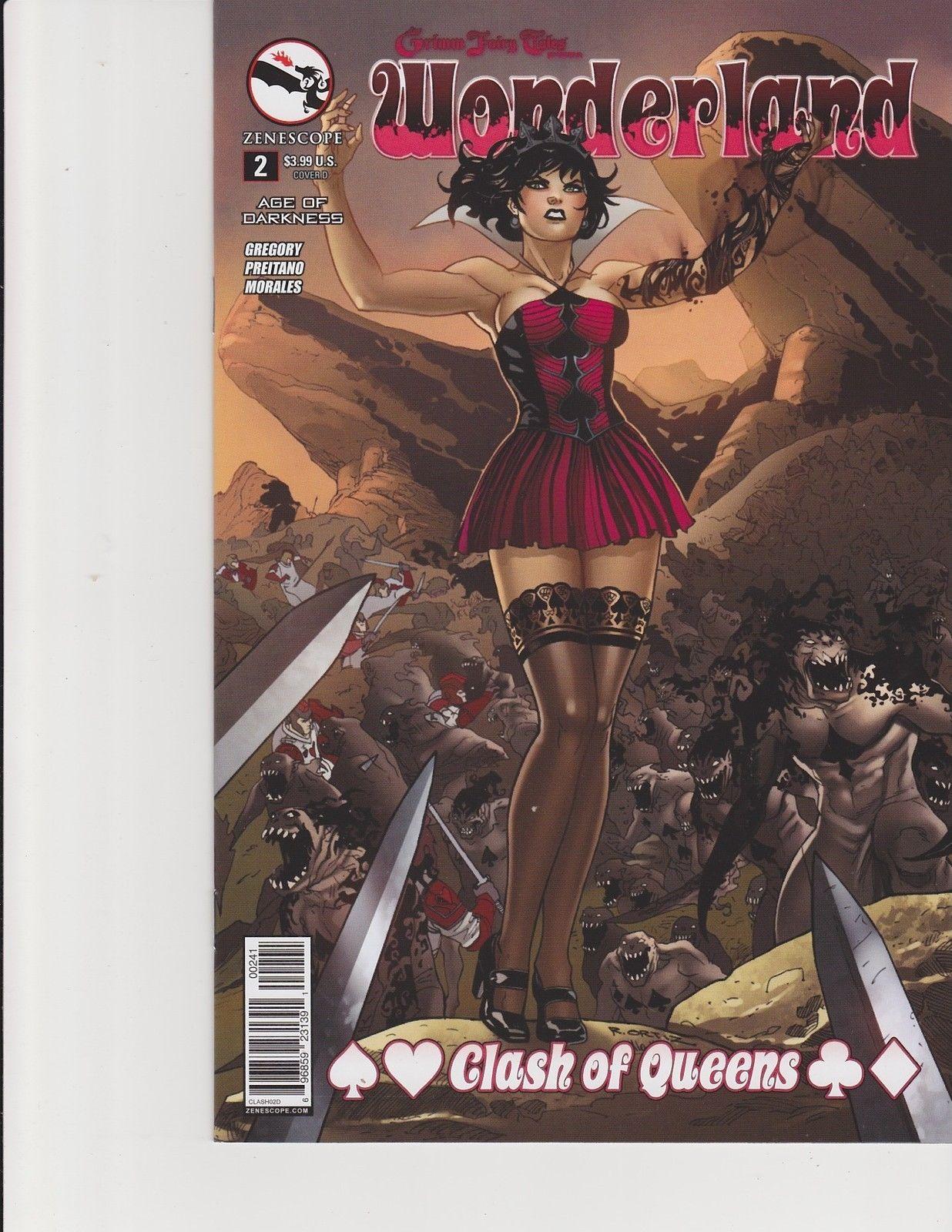 Wonderland Finale Cover D Zenescope Comic GFT NM Watson