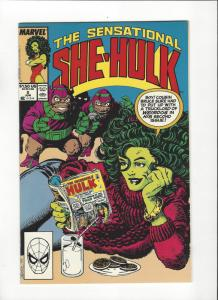 Sensational She-Hulk #2 (1989) John Byrne Art NM