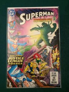 Superman #74 DOOMSDAY! Guest-starring Justice League America