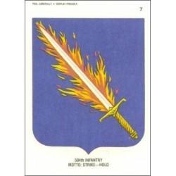 1991 Topps Desert Storm Sticker 504TH INFANTRY #7