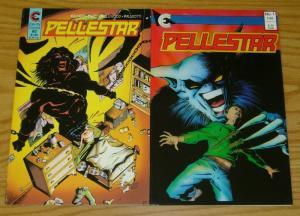 Pellestar #1-2 FN/VF complete series - eternity comics - richard case set lot