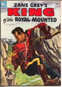 King of The Royal Mounted #11 1953-Dell-Zane Grey-RCMP-VF