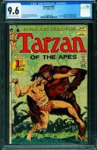 TARZAN #207 CGC 9.6 1971-DC-EDGAR RICE BURROUGHS- 2039901002